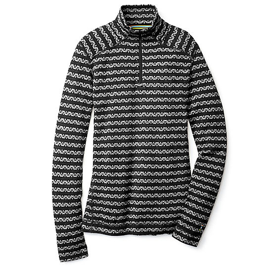 Women's Merino 250 Base Layer Pattern 1/4 Zip