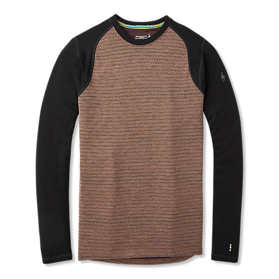 Men's Merino 250 Base Layer Pattern Crew