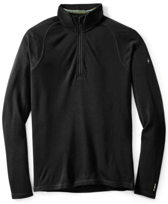 SmartWool Men's NTS Mid 250 Zip T - Black