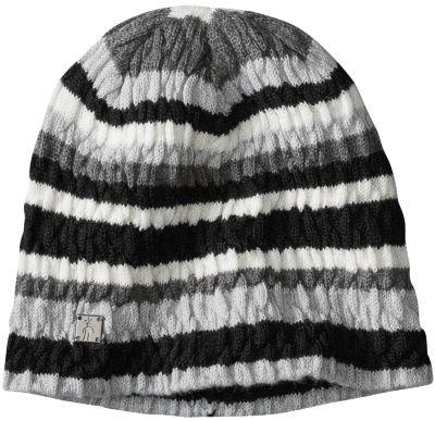 SmartWool Women's Striped Chevron Hat - Light Gray Heather