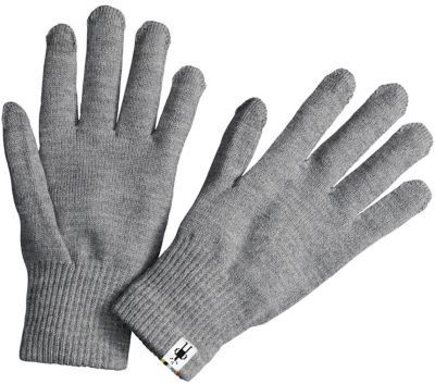 SmartWool Liner Gloves - Silver Gray Heather