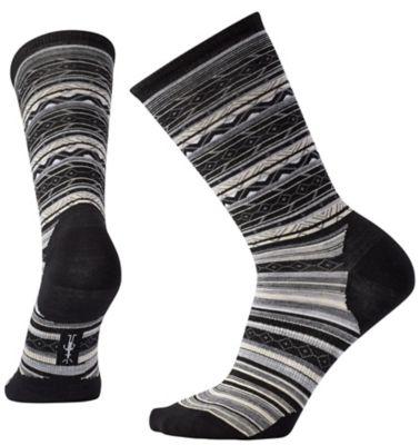 SmartWool Women's Ethno Graphic Crew Socks - Black