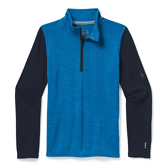 Kids' Merino 250 Base Layer Zip T