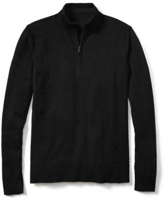 SmartWool Men's Kiva Ridge Half Zip Sweater - Black
