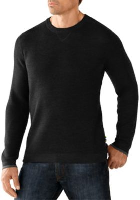 SmartWool Men's Cheyenne Creek Crew Sweater - Charcoal Heather
