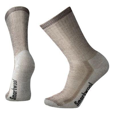 SmartWool Men's Hike Medium Crew Socks - Dark Brown