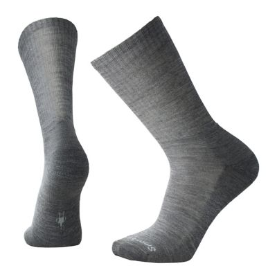 SmartWool Men's Heathered Rib Socks - Medium Gray