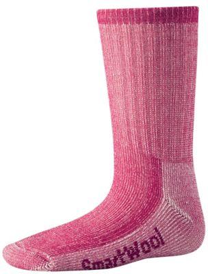 SmartWool Kids' Hike Medium Crew Socks - Peony