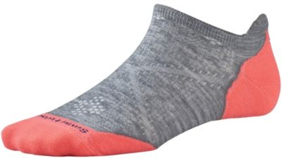 SmartWool Women's Phd® Run Light Elite Micro Socks - Light Gray SW:0SW210:039:S::1: