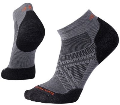 SmartWool Men's PhD® Run Light Elite Low Cut Socks - Graphite