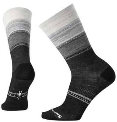 SmartWool Women's Sulawesi Stripe Socks - Charcoal Heather