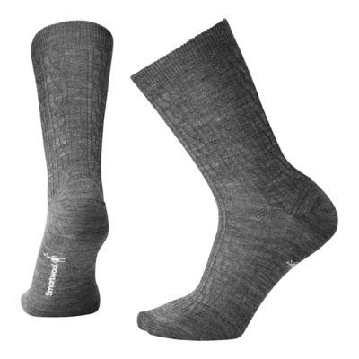 SmartWool Women's Cable II Socks - Medium Gray