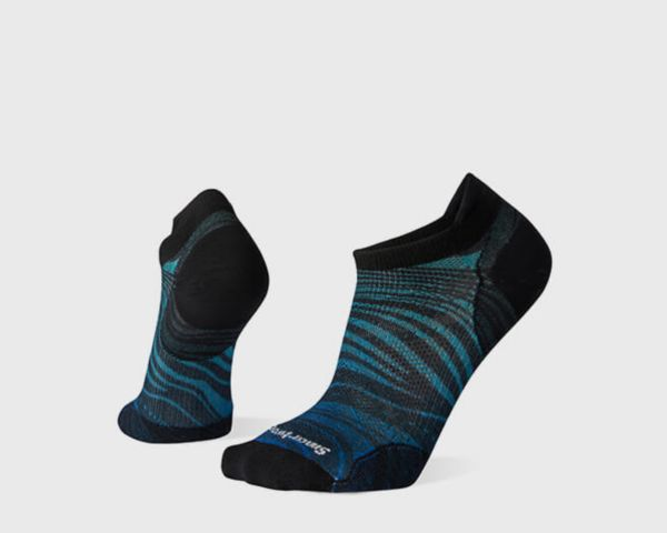 PhD® Run Ultra Light Wave Print Micro Socks